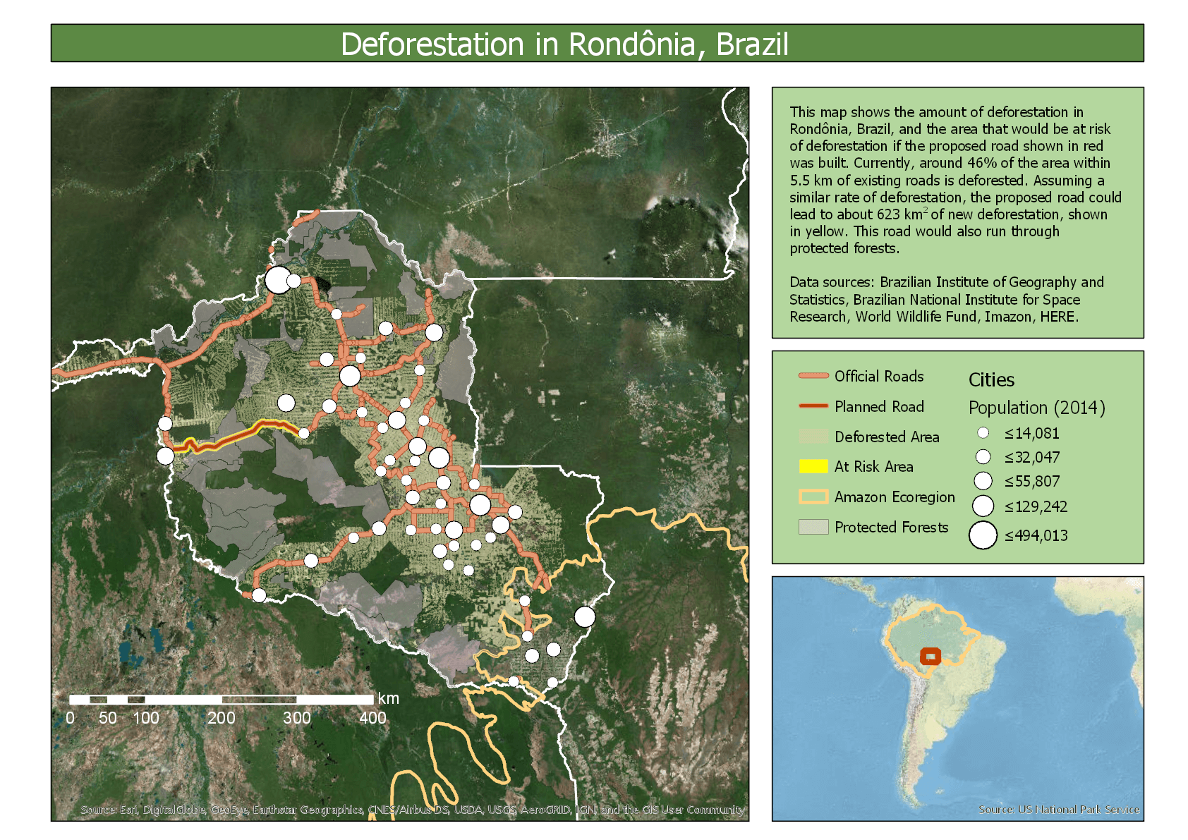Rondonia Deforestation